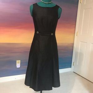 NWT Saks Signature little black dress w POCKETS!!